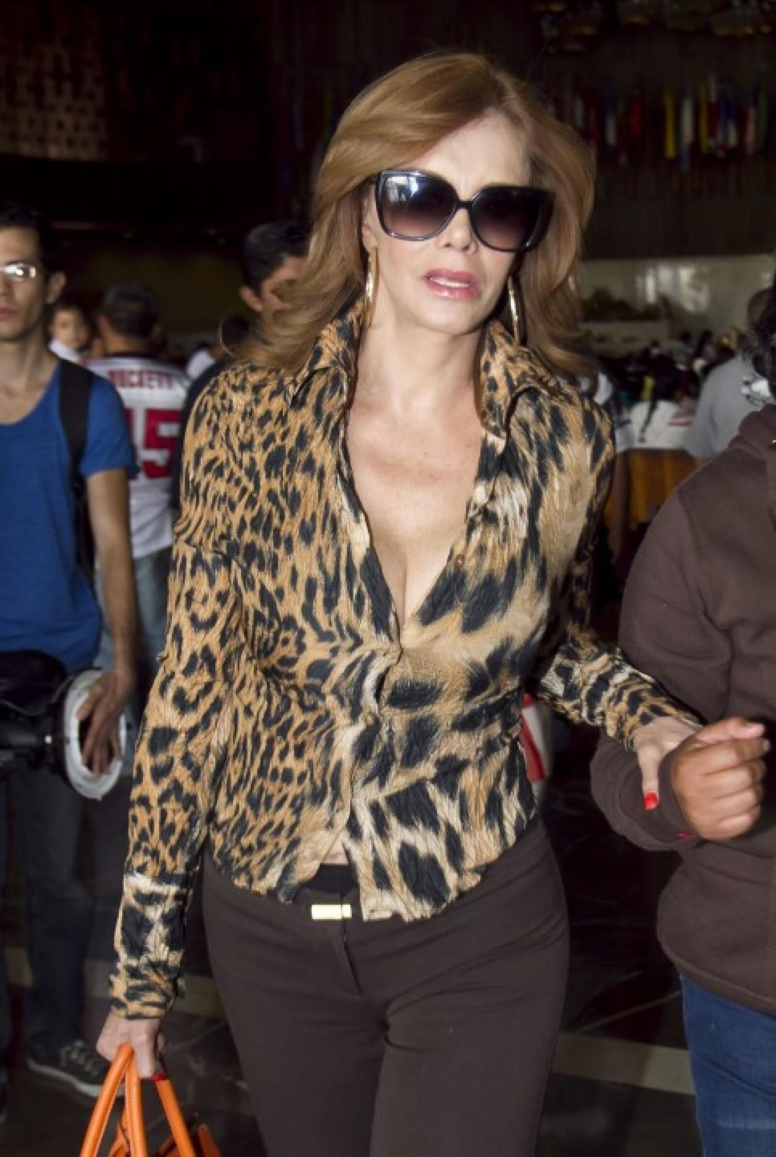 Lucía Mendez fue una de las invitadas.