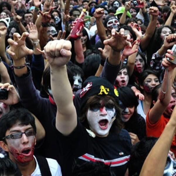 zombi walk zombi zombies record guinness distrito federal ciudad de mexico