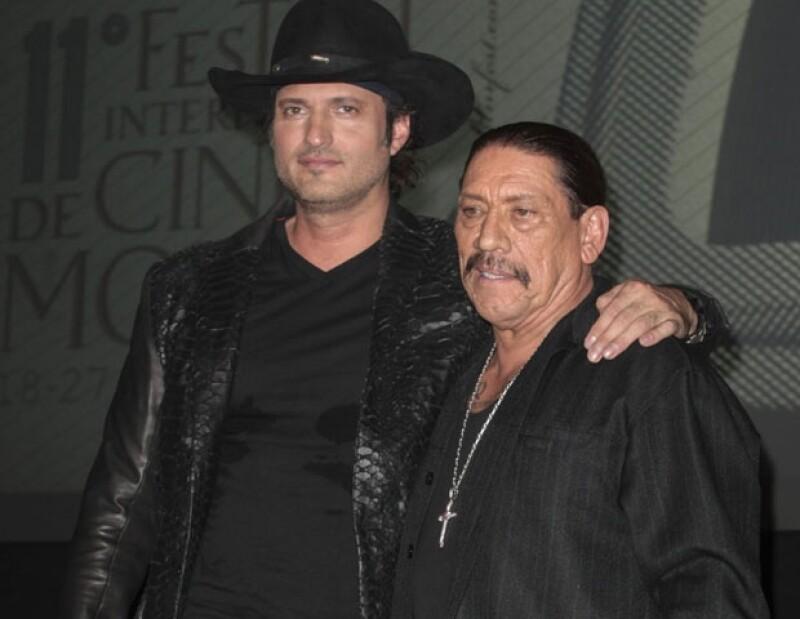 """En el marco del FICM, el actor estadounidense relató que al filmar el primer éxito de Robert Rodríguez, """"Desperado"""", los inversionistas no estaban de acuerdo con la participación de la mexicana."""