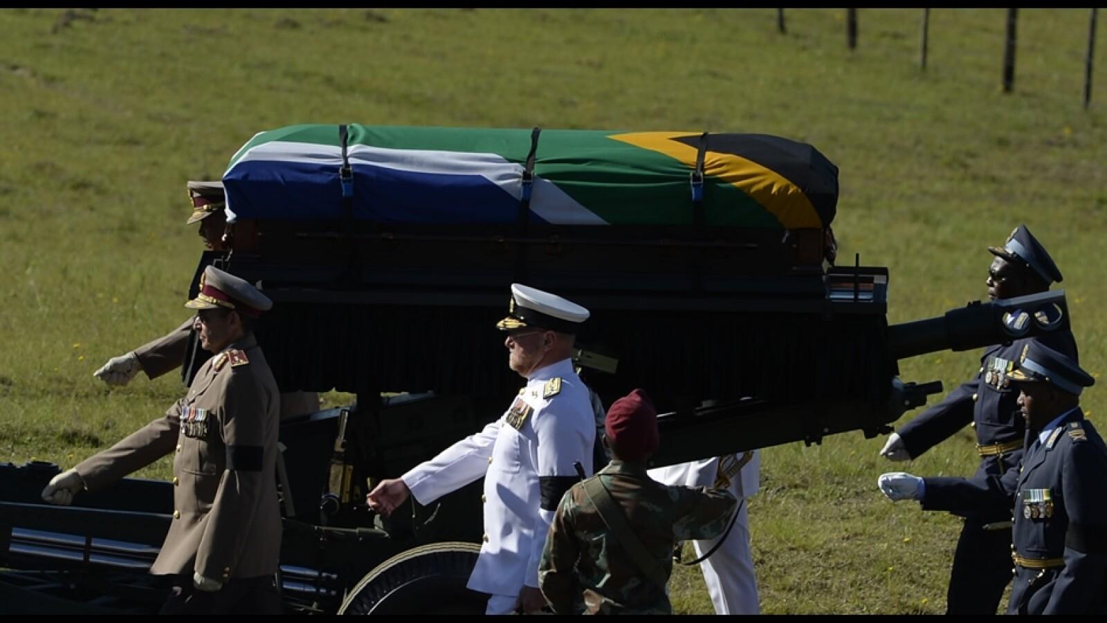 autoridades Mandela funeral domingo