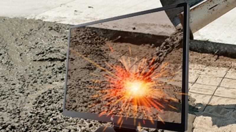 laser convierte cemento en metal