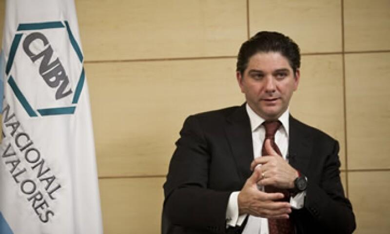 González Aguadé asegura que se realizará un inventario para ver qué reformas se impulsarán para el sistema financiero mexicano. (Foto: Adán Gutiérrez)