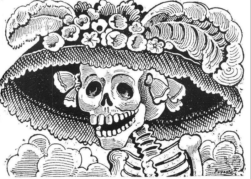 La Catrina Un Icono De La Celebración Del Día De Muertos