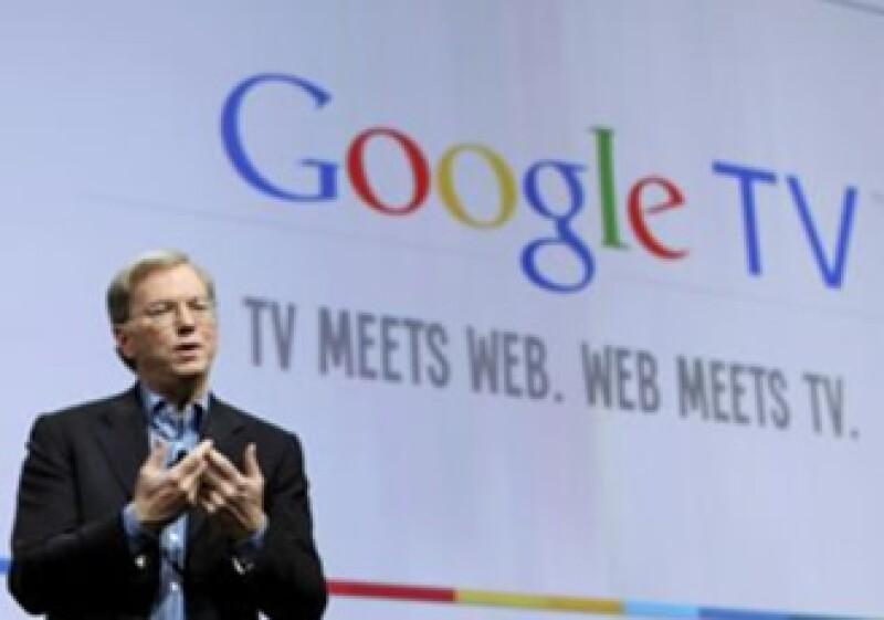 Eric Schmidt, CEO de Google, durante la presentación de este nuevo producto. (Foto: Reuters)