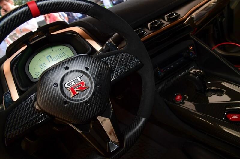 Nissan interior.