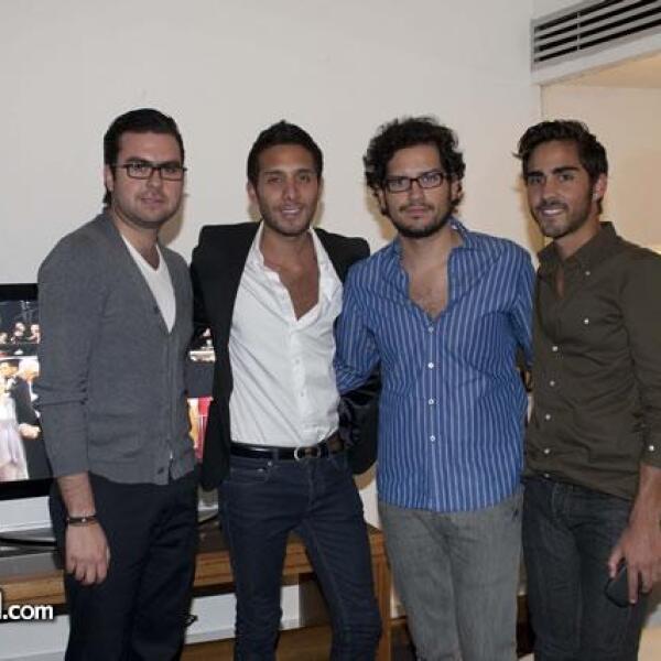 Enrique Mestre,Pablo Ahumada,Tadeo López,Alejandro Cervantes