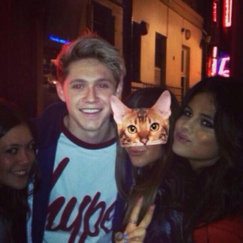 Así fueron vistos Niall Horan y Selena Gomez hace un par de semanas.