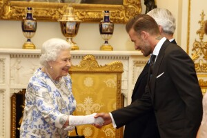 Las pruebas de que la Reina Isabel tiene un crush con David Beckham