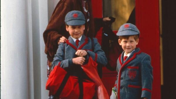 Lady Di, príncipe William y el príncipe Harry
