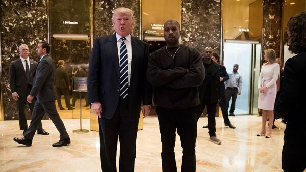 Kanye West y Donald Trump