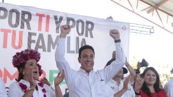 Omar Fayad Meneses lleva una ventaja avasalladora frente al resto de los candidatos que buscan hacerse de la gubernatura de Hidalgo.