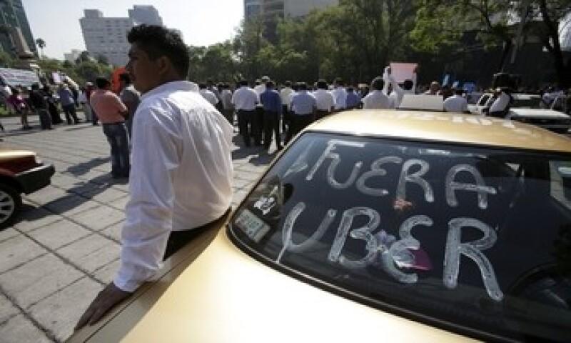 Las concentraciones afectaron vialidades como Paseo de la Reforma, Eje 2 Norte, entre otras. (Foto: Reuters )