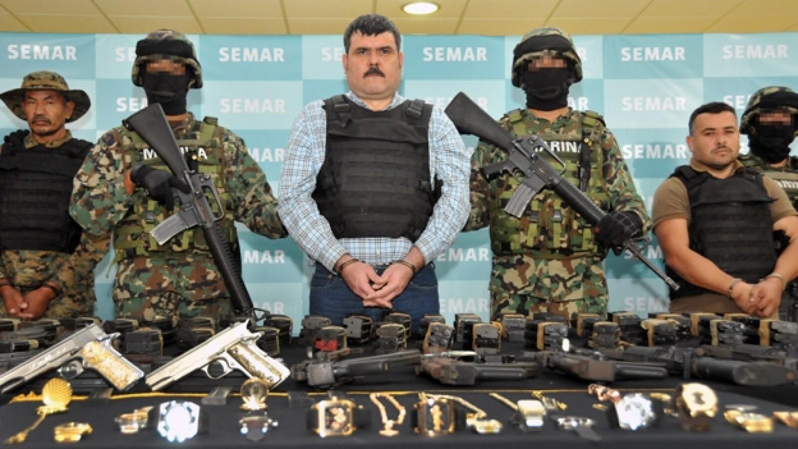 Jorge Eduardo Costilla 'El Coss' detención 2