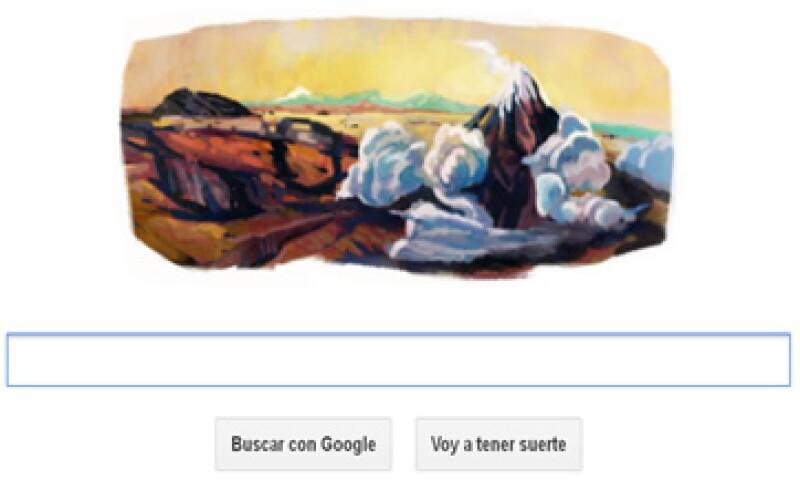 En 1875, José María Velasco exhibió su obra más importante El Panorama del Valle de México. (Foto tomada de Google.com)