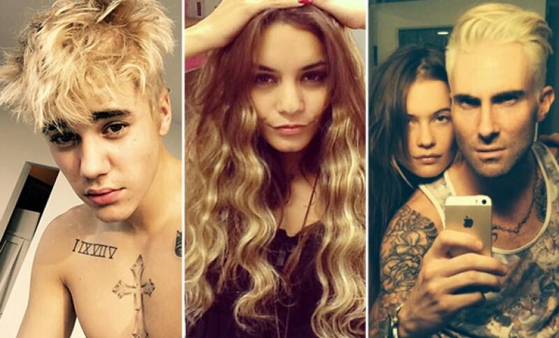 Justin Bieber, Vanessa Hudgens, Adam Levine