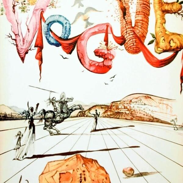 Vogue, abril 1944: Otra portada ilustrada por Salvador Dalí.