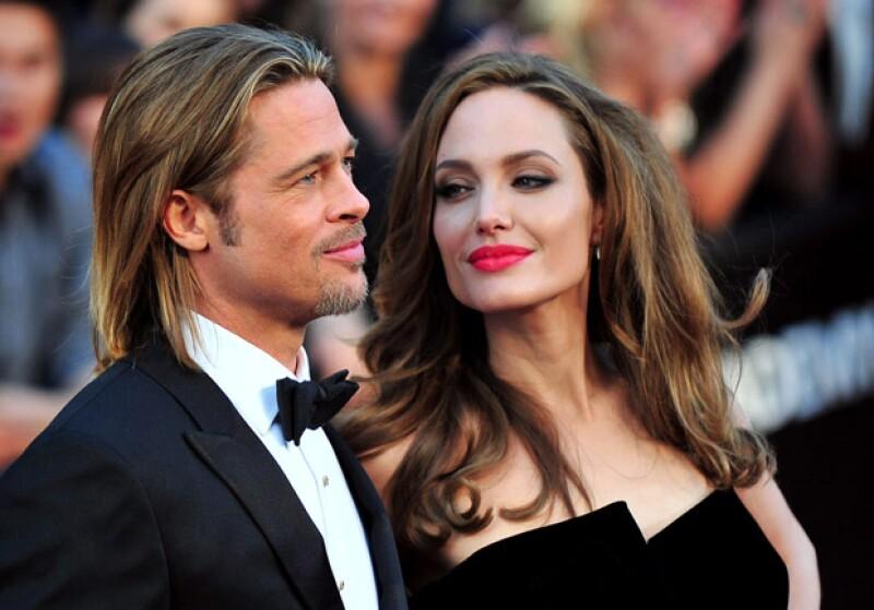 Brad Pitt logró que Angelina sentara cabeza y ambos formaran una familia.