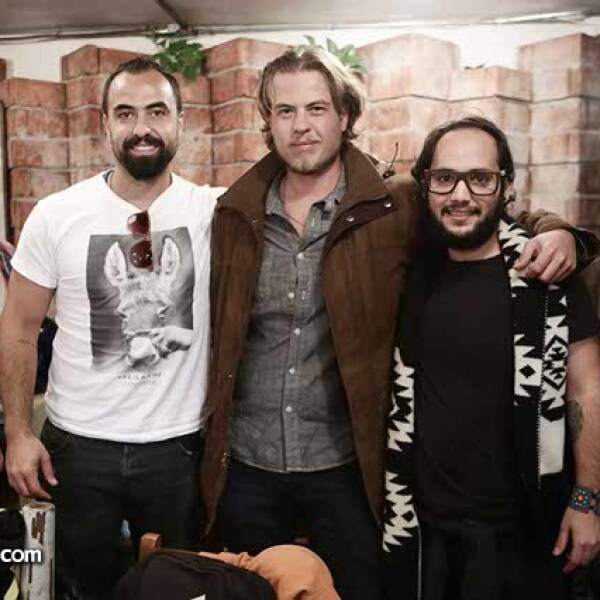 Enrique Sada,Bernardo Sada y Christian Backhoff