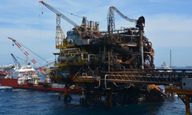 La plataforma es parte del activo Abkatun-Pol-Chuc en la Sonda de Campeche. (Foto: Cortesía Pemex)