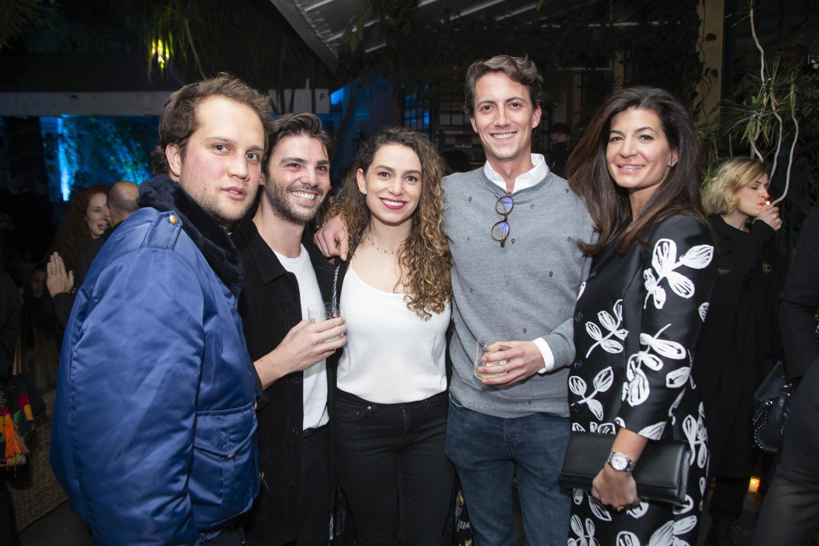 Johan Merguentaler, Marco Rovacchi, Ana Paula Zamacona, Santiago Ortiz Monasterio