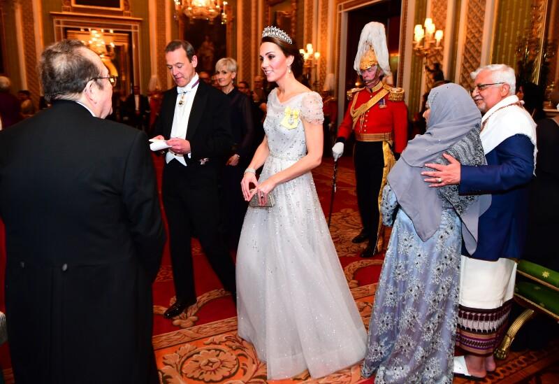 Kate Palacio de Buckingham  5 diciembre 18