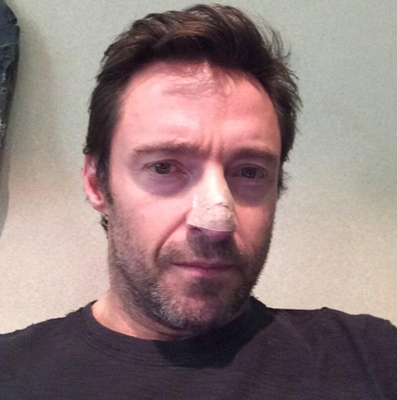 Esta es la foto que Hugh Jackman compartió en Instagram.