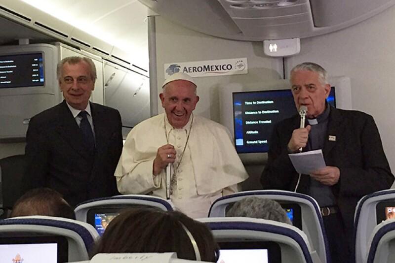 El Papa finalizó este miércoles su visita por México.