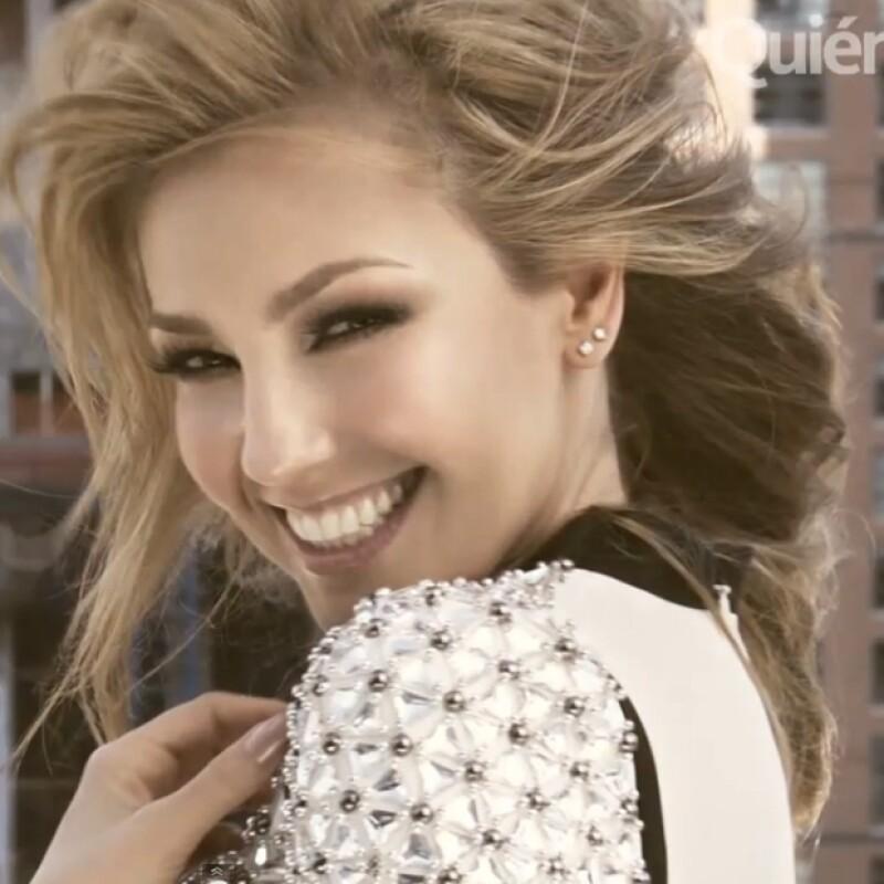 Viajamos a la ciudad más cosmopolita del mundo para retratar a Thalía para la portada de la revista Quién. Así se vivió el behind the scenes.