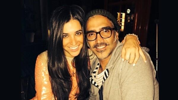 Actualmente el Potrillo mantiene una relación con Karla Laveaga.