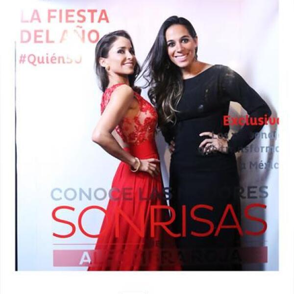 Irina del Rivero y Alejandra Correa