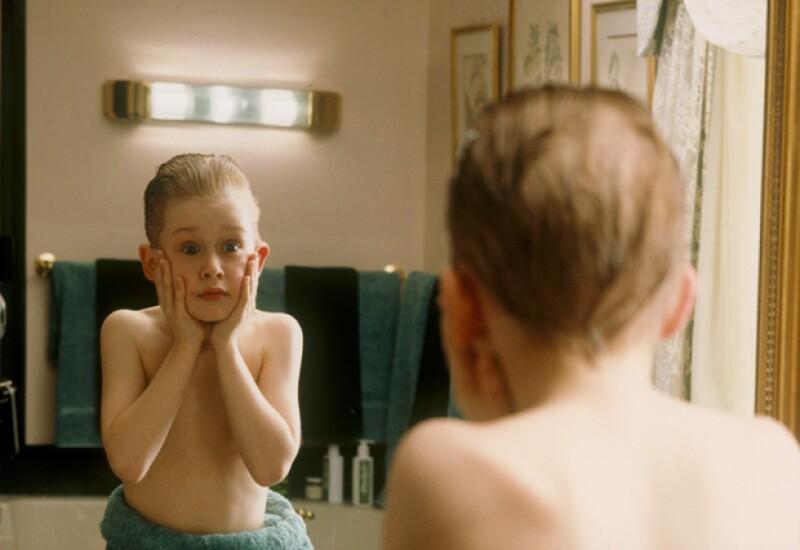 Esta es una de las escenas más emblemáticas de Home Alone.