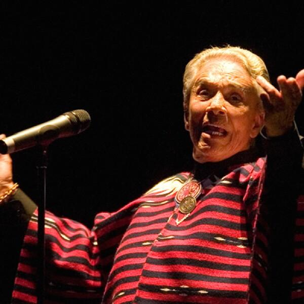 La 'chamana', Chavela Vargas, falleció el 5 de agosto a los 86 años de edad, dejando todo un legado de música.
