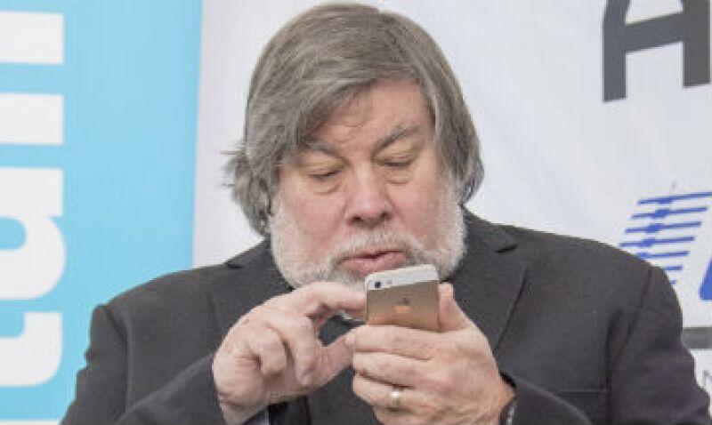 Wozniak aconsejó a Apple abrirse hacia lo que la gente necesita. (Foto: Gabriela Chávez)