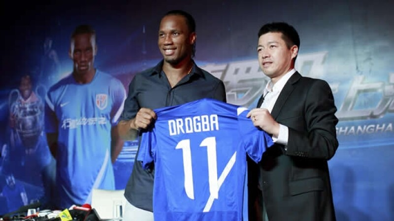 Didier Drogba - Shanghai Shenhua