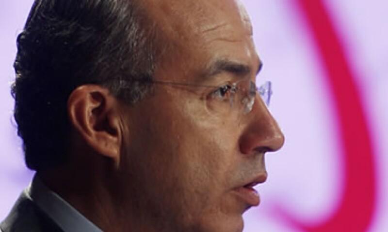 Felipe Calderón inicia el último año de su Gobierno, sin altas expectativas en materia económica por parte de especialistas. (Foto: Archivo)