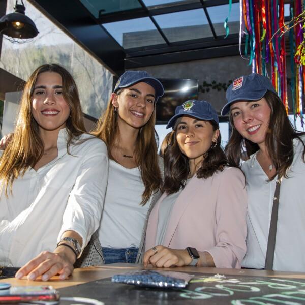 Silvana Ordaz, Mariana Gutierrz, Paulina Rodriguez, Ale Hernandez