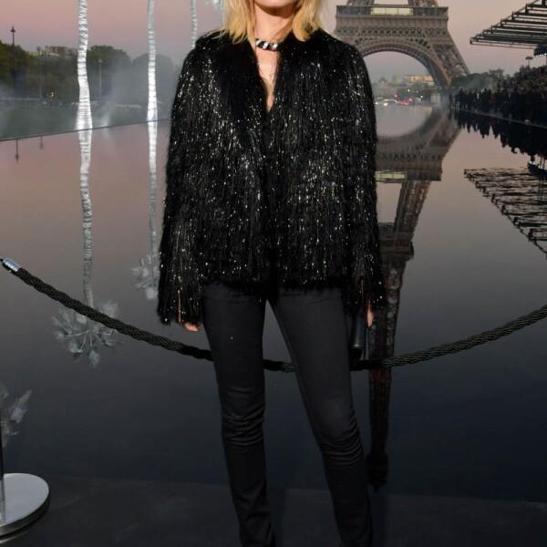 Saint Laurent show, Front Row, Spring Summer 2019, Paris Fashion Week, France - 25 Sep 2018