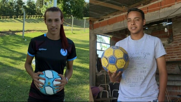 Futbolistas transgénero se abren paso en la liga argentina