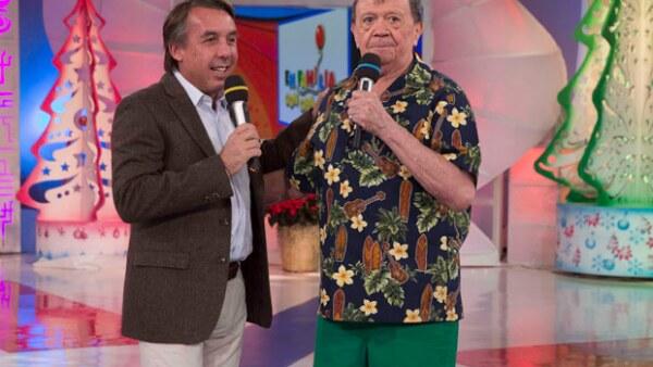 El presidente de la televisora le aseguró a Xavier López que Televisa siempre será su casa; mientras tanto, Chabelo agradeció a su público.