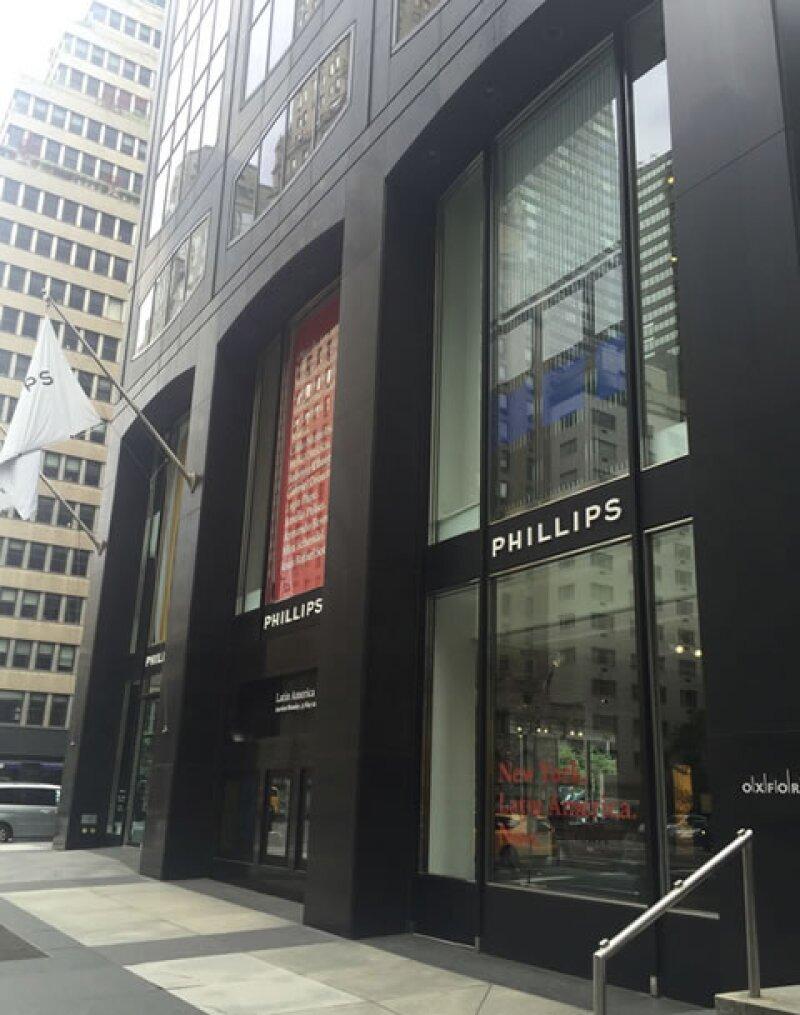 Los Grandes Maestros del Arte Popular en la casa de subastas Phillips en Nueva York.