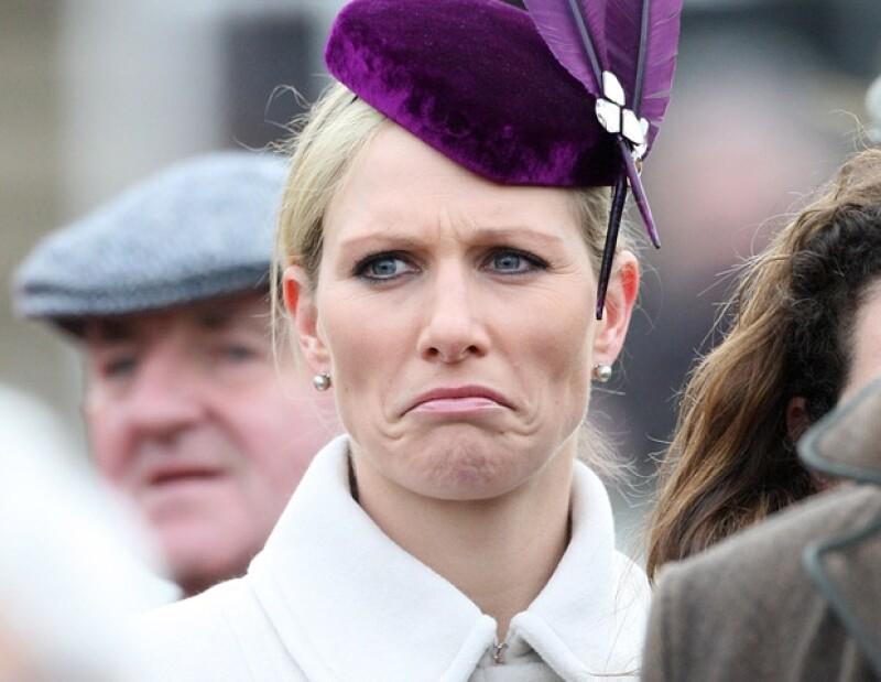 La nieta de Isabel II no fue reconocida durante el evento ecuestre.