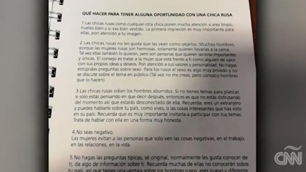 Asociación de Futbol Argentino difunde manual para seducir chicas rusas
