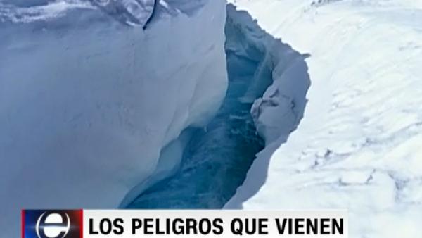 Si la temperatura del planeta aumenta 2 grados, no habrá retorno