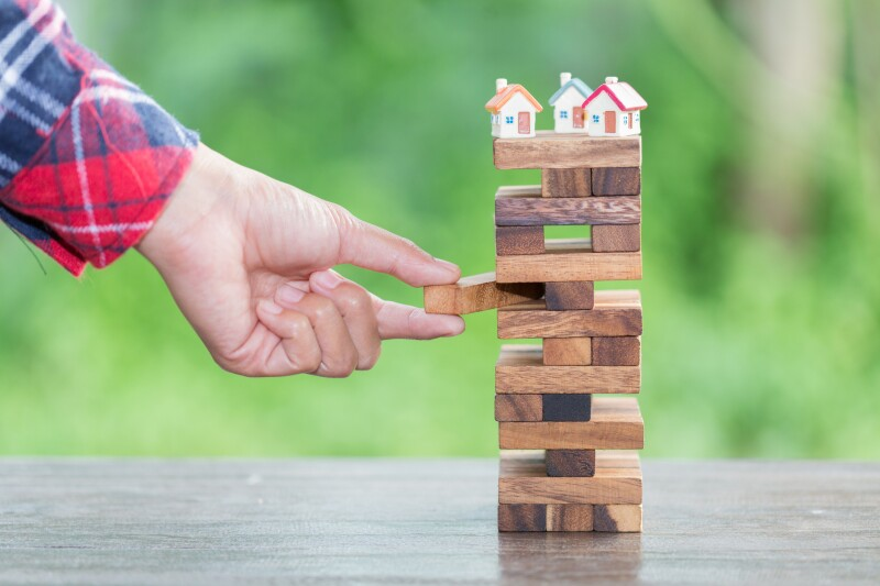The concept of risk of investing money. security of property rights. protection of investments and deposits. family, home.