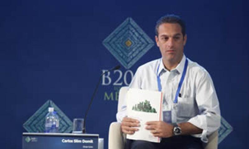Se requieren nuevos dispositivos y un desarrollo fuerte de aplicaciones, comentó Carlos Slim Domit. (Foto: Dayan Jiménez)