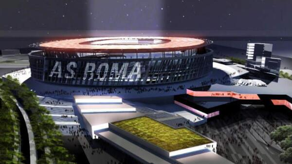 Proyecto de estadio del club Roma
