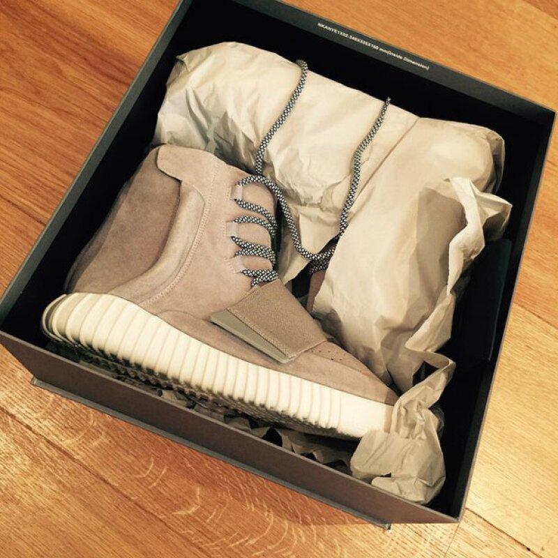El primer regalo de cumpleaños de Brooklyn: unas botas estilo Kanye West.