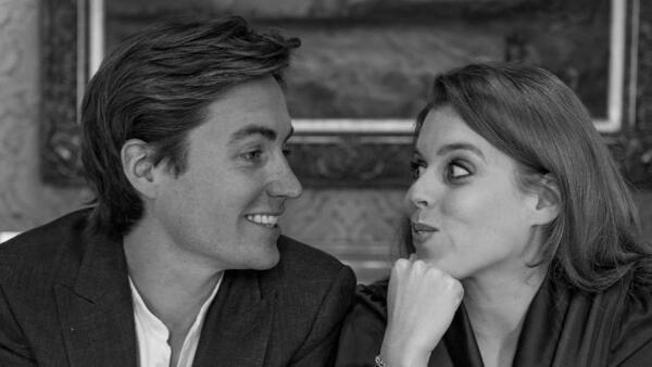 Princesa Beatriz y su prometido Edoardo Mapelli Mozzi