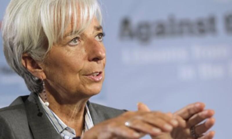 La directora gerente del Fondo Monetario Internacional, Christine Lagarde, dijo que se deben tomar decisiones acerca del sector bancario español. (Foto: Reuters)