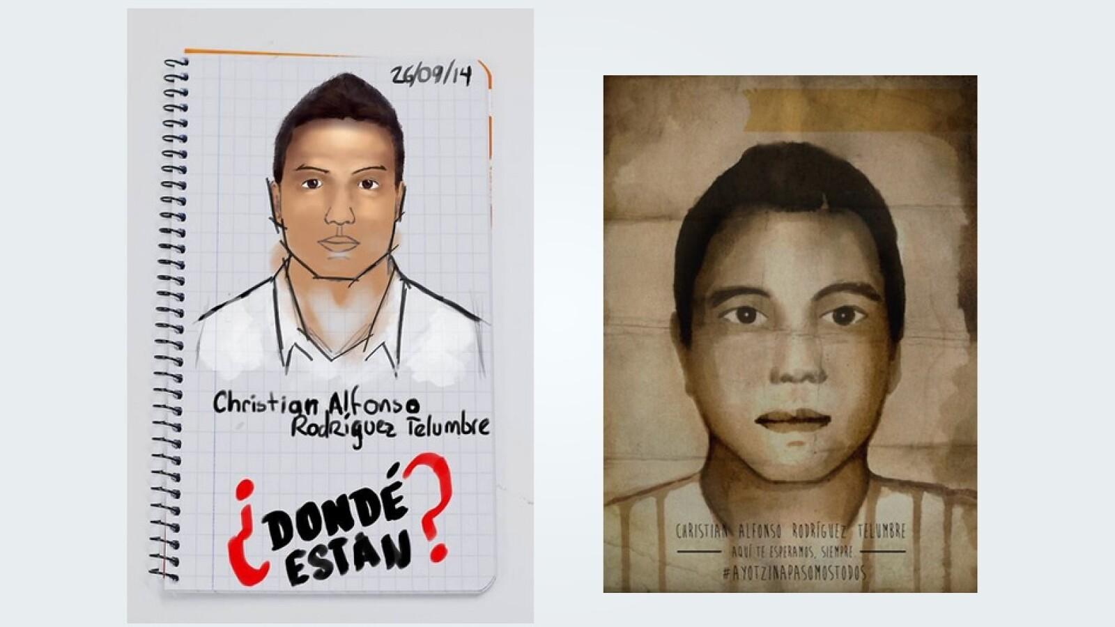 Christian Rodriguez Ayotzinapa